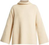 The Row Violina high-neck cashmere sweater