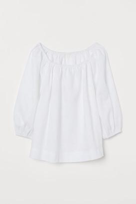 H&M Linen blouse
