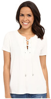 KUT from the Kloth Valerie Lace-Up Top