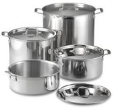 All-Clad Stainless Steel Covered Stock Pots