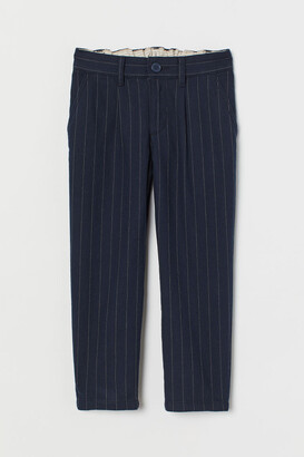 H&M Relaxed Fit Chinos - Blue