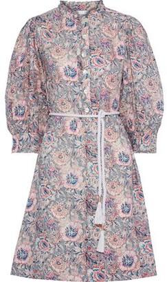 Antik Batik Andre Floral-print Cotton Dress