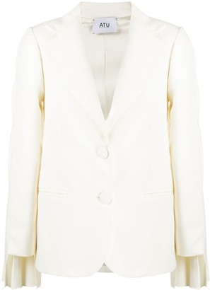 Atu Body Couture White Magic pleated blazer