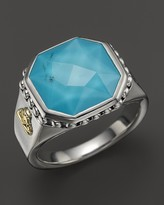 Lagos Turquoise Doublet Ring