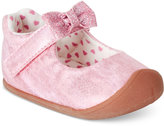 Carter's Every Step Stage 1 Crawling Sarah Bow Mary Janes, Baby Girls (0-4)