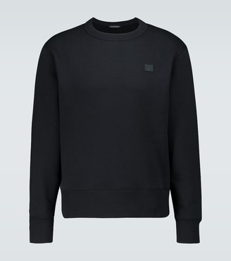 Acne Studios Fairview Face cotton sweatshirt