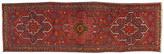 One Kings Lane Vintage Heriz Hand Woven Runner Rug 3'6 x 11'10 - blue/red