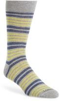 Lorenzo Uomo Men's Double Stripe Socks