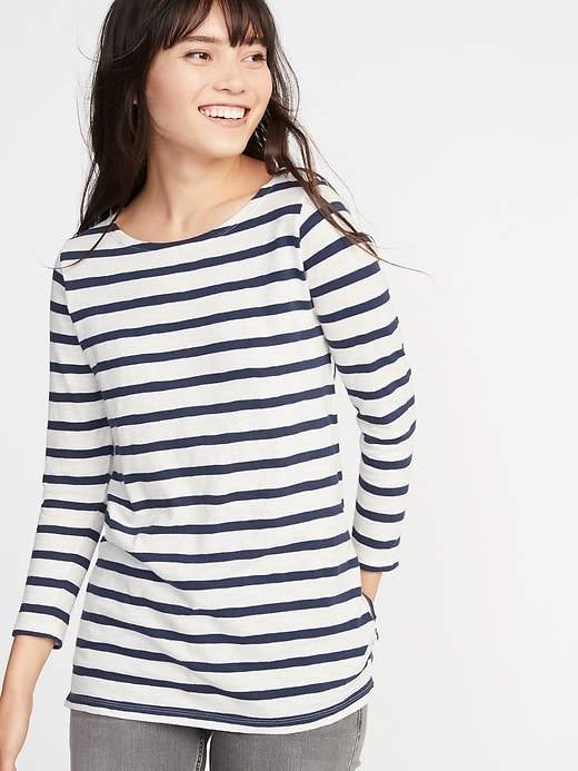 Old Navy Relaxed Mariner-Stripe Tee for Women