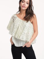 Ella Moss Trello Lace One Shoulder Top