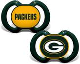 Baby Fanatic Green Bay Packers 2 Piece Pacifier Set by