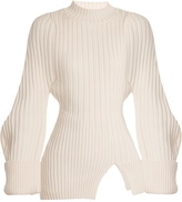 Jacquemus La Maille Pablo ribbed-knit wool sweater
