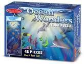 Melissa & Doug ; Ocean Wonders Jumbo Jigsaw Floor Puzzle (48 pcs, over 4 feet long)