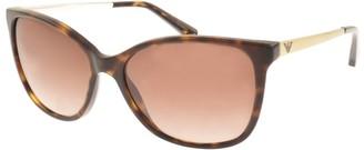 Giorgio Armani Emporio EA4025 Sunglasses Brown