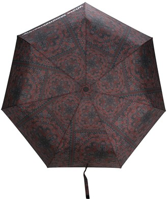 White Mountaineering Paisley Print Umbrella