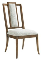 Tommy Bahama Bali Hai Linen Upholstered Dining Chair Home