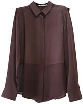 Alexander Wang Purple Silk Top for Women