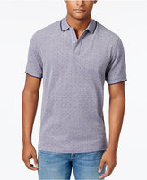 Club Room Men's Dot-Pattern Performance Polo, Only at Macy's