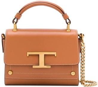 Tod's T plaque mini bag