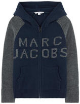 Little Marc Jacobs Wool and cashmere cardigan