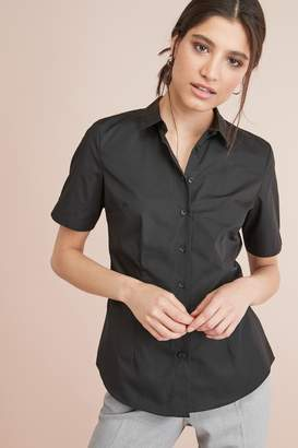 Next Womens Black Short Sleeve Shirt - Black