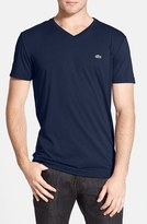 Lacoste Men's Pima Cotton Jersey V-Neck T-Shirt