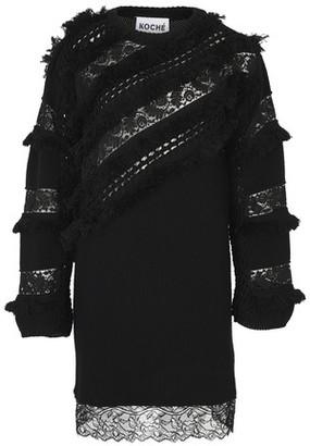 Koché Patchwork dress