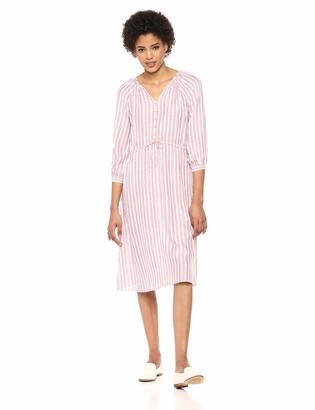 Michael Stars Women's Catalina Caitlyn Balloon Sleeve Striped Dress