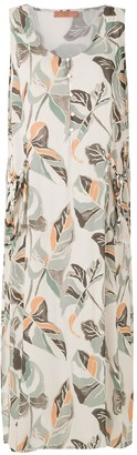 Clube Bossa Foliage-Print Shift Dress