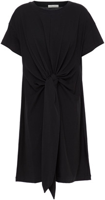 Rag & Bone Knotted Cotton-blend Jersey Dress