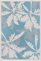 Couristan Coastal Floral Indoor/Outdoor Rectangular Rug