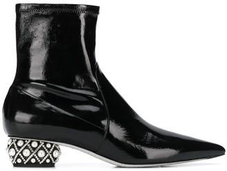 Rene Caovilla LadyPerla ankle boots