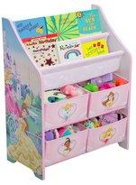 Delta - Disney Princess Book And Toy Organizer