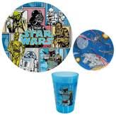 Star Wars Kid's 3-pc. Dinnerware Set