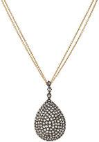 Renee Lewis Women's Pear-Shaped Pendant Necklace