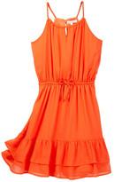 Ella Moss Kellie Crinkle Chiffon Dress (Big Girls)