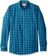 Wrangler Authentics Men's Long Sleeve Premium Gingham Shirt