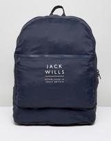 Jack Wills Benville Nylon Bag in Navy