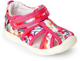 Naturino Toddler Girls) Pink Andrea Floral-Print Cutout Shoes