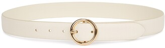 Andersons Ivory Leather Belt