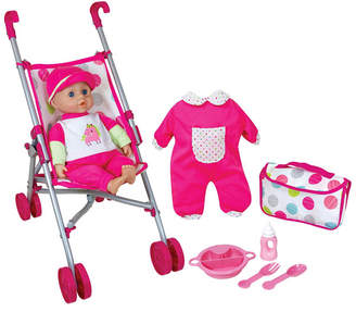 Lissi Doll - Umbrella Stroller Set