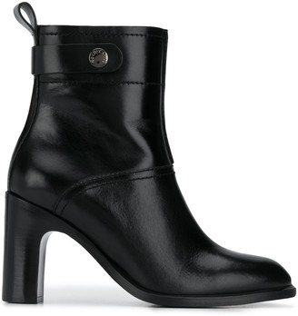 See by Chloe Chunky Heel Ankle Boots