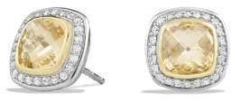 David Yurman Albion® Earrings With Champagne Citrine, Diamonds And
