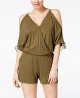 Jessica Simpson Saga Cold-Shoulder Romper