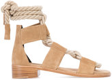 Pierre Hardy 'Azur' sandals - women - Leather/Suede - 36