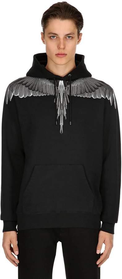 Marcelo Burlon County of Milan Wings Cotton Sweatshirt Hoodie
