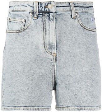 MSGM classic denim shorts