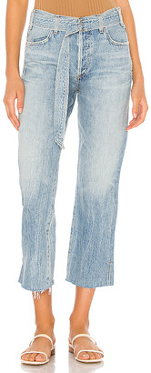 Citizens of Humanity Belted Emery High Rise Relaxed Crop. - size 25 (also