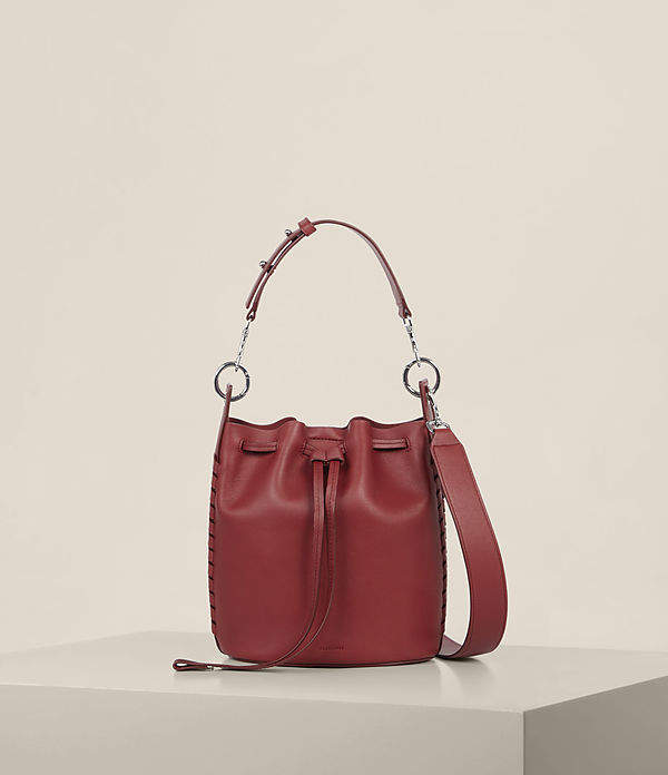 AllSaints Ray Small Bucket Bag