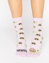 Asos Awkward Turtle Ankle Socks
